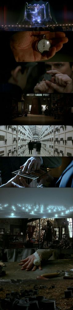 The Prestige (2006) Directed by Christopher Nolan. Cinematography by Wally Pfister. #FilmmakingTricks