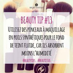 Vous aussi, addict aux pinceaux makeup ? #beautistas #beautytips #makeupaddict #pinceaux #brushes #cosmetics #foundation #instamakeup