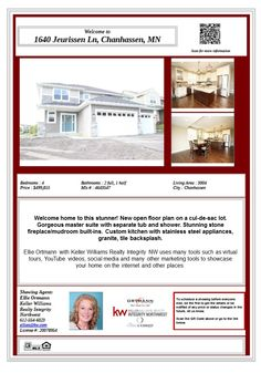 1640 Jeurissen Ln Chanhassen MN 55317. Model home in the Preserve at Bluff Creek addition. Parks, lakes, golf course & shopping all are nearby. ISD 112 Eastern Carver County schools.