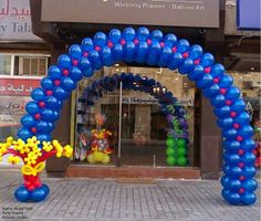 1000 images about arcos con globos on pinterest safe - Como hacer adornos con globos ...