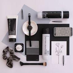 "FLAT LAY CREATIVE on Instagram: ""Product Matrix  Client @matrix @julie_rimmer @julandip_matrix_capetown @leandrihattinghmua @arkunzie @hayleykatzer9455  #matrix #matrixsa…"" Creative Photography, Flat Lay, Instagram"