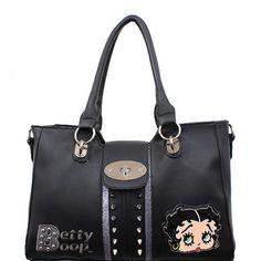 Official Betty Boop® Spike Studded Handbag – Handbag Addict.com