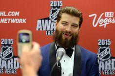 Brent Burns (4128×2752) He Makes Me Smile, Make Me Smile, Brent Burns, Hockey News, Cbs Sports, Great Beards, San Jose Sharks, National Hockey League, Hockey Players