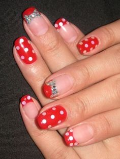 Cute, reminds me of minnie mouse