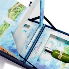 This Ocean Inspired Packaging for La Mer is Exquisite