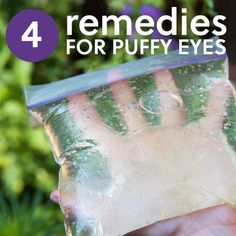 Probeer deze effectieve natuurlijke remedies om zich te ontdoen van gezwollen ogen en wallen onder de ogen.