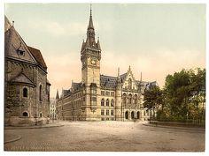 [New town hall, Brunswick (i.e., Braunschweig), Germany]