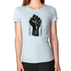Grunge Style Solidarity Fist Women's T-Shirt