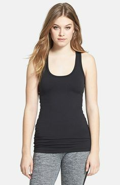 Hard Tail Long Skinny Racerback Tank available at #Nordstrom