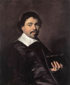 Frans Hals - Portret van Johannes Hoornbeek