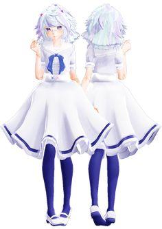 [MMD Request] Sonodas' Model 2 by Smol-Hooman on DeviantArt Anime Elf, My Vibe, Anime Outfits, Vr, Sketch, Dance, Deviantart, Models, Female