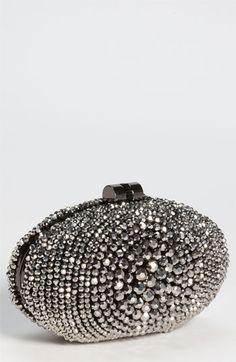 LOVE this clutch! Sondra Roberts 'Beaded Bull's Eye' Clutch | Nordstrom