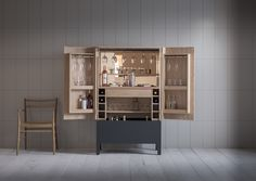 The Frans drinks cabinet, shown in Puddleduck, costs £7,650