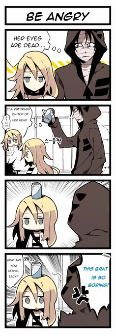 Angels of Death Comic-Be Angry translated.