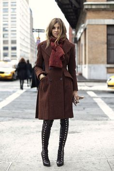 Carine Roitfeld.- awesome boots!!!