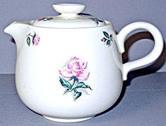 Hlc Household Institute Rhythm Rose Teapot