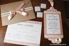 Convite De Casamento Rústico   Abelha Design - Convites de casamento