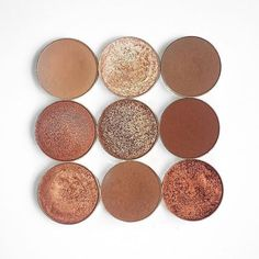 Makeup Geek Eyeshadows in Creme Brulee, Latte, Roulette, Cocoa Bear, Cosmopolitan and Frappe Makeup Geek Foiled Eyeshadows in In The Spotlight, Grandstand and Flame Thrower. Look by: rosa_wx