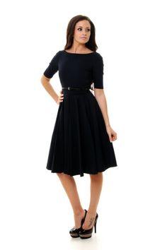 Image detail for -... 50's Retro Shift Dress   Blue Dresses   The Pretty Dress Company