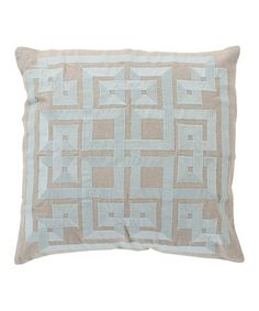 This Peyote Linen Throw Pillow is perfect! #zulilyfinds