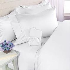 White Plain - Solid Queen Size Duvet Cover Sheet Set - 300 Thread 100% Egyptian Cotton [Duvet Cover Sheets + 2 pillowcases] by EveryDay Linens, http://www.amazon.com/dp/B005XU3W9I/ref=cm_sw_r_pi_dp_2Ygarb0R9J0M7