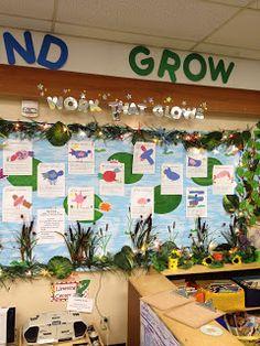 Teacher Inspired: My First Grade Days - My Buzzy Garden