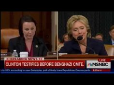 Hillary Clinton Laughs Hysterically During Benghazi Hearing
