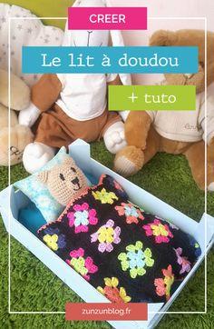 Tutoriel du lit à doudou (couture et/ou crochet)