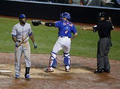 Lorenzo Cain, KC/Travis d'Arnaud, NYM///WS Game 5, Nov 1, 2015