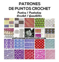 Crochet y dos agujas: Dónde encontrar patrones de puntos crochet gratis ...