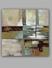 Hand-Painted+Abstract+Landscape+Square,Classic+Modern+Canvas+Oil+Painting+Home+Decoration+One+Panel+–+USD+$+172.78