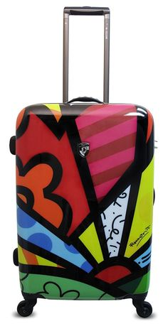 Heys USA Luggage Britto New Day 26 Inch Hard Side Suitcase >>> Read more reviews of the product by visiting the link on the image. (This is an Amazon Affiliate link)