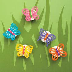 Fluttercups--Haven't made these yet, but would like to for a spring party or teacher appreciation lunch.
