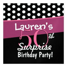 18th SURPRISE Birthday Party Invitation Template