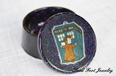 Doctor Who Inspired Trinket Box by LeadFootJewelry on Etsy