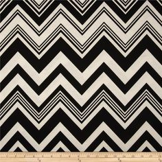 Ponte De Roma Knit Chevron Black from @fabricdotcom  This ponte de roma double knit fabric has a soft hand, full bodied drape and 50% stretch across the grain. This knit is perfect for creating skirts, dresses, structured knit apparel, light jackets, heavier tops and more! Colors include ivory and black.