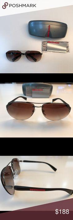 Prada sunglasses men Sunglasses are good condition, box has sign of wear Prada Accessories Sunglasses