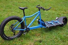PORN BIKE! WANT!!!! Mega Cargo bike Via facebook.com/fukcarsgobike/