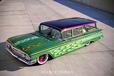 Cool wagon. 1960 Chevy
