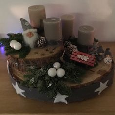 Advent, Diy And Crafts, Table Decorations, Home Decor, Porches, Christmas, Creative, Decoration Home, Room Decor