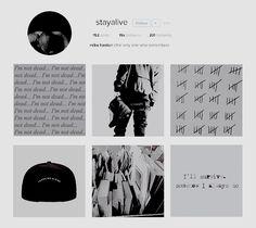 the losers' club + social media au. Sea Wallpaper, Instagram Accounts To Follow, Stranger Things, Aesthetic Wallpapers, It Cast, Aesthetics, Ships, Social Media, Icons