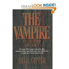 The Vampire In Legend and Fact: Basil Copper: 9780806511269: Amazon.com: Books