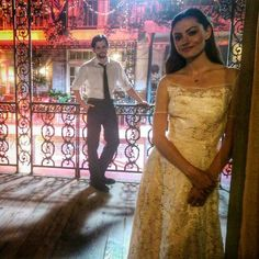 On the set of The Originals!