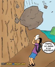 piedra, papel o… #Imagendeldia | Cachicha.com