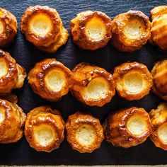 Cannelés du Sud-Ouest Biscuits, Macarons, Sweet Recipes, Muffin, Baking, Breakfast, Desserts, Grands Parents, Food