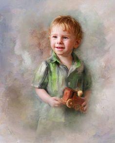 Child Art#All Boy#Richard Ramsey