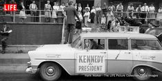 John F. Kennedy on the Campaign Trail: Classic Photos From 1960 Radio Advertising, Contemporary History, Life Pictures, Picture Collection, Life Magazine, Jfk, Childhood Memories, Screen Printing, Pop Culture
