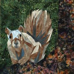 silver linings quilting pattern wee squirrel