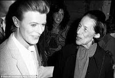 David Bowie and Diana Vreeland