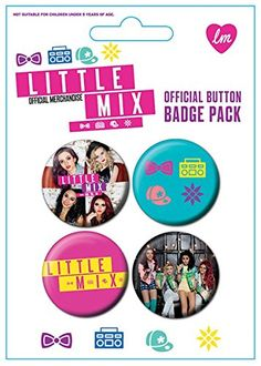 Official Little Mix Badge Pack (Set of 4 x 38mm Pin Button Badges) Little Mix http://www.amazon.com/dp/B00CTKFG8K/ref=cm_sw_r_pi_dp_4LP0vb12YJ0NA